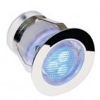 59133 Ikon LED Blue Round Stainless Steel Decking Kit