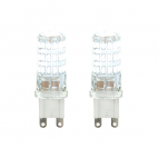 3W LED G9 lamp Twin Pack