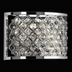 HUDSON-2WBCH Hudson 60W 2lt Chrome Plate Wall Light
