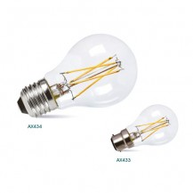 7W LED Dimmable Filament B22 E27 Warm White GLS Lamp