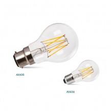 8W LED Sapphire Filament B22 E27 Warm White GLS Lamp