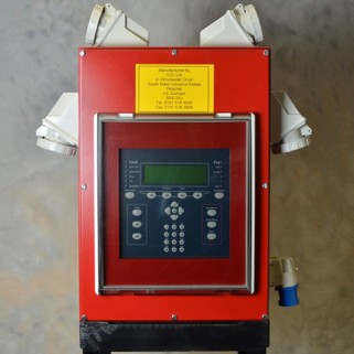 Front View of the Single Loop Fire Alarm Control Panel
