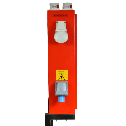 Four Loop Fire Alarm System With Network Card